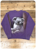 True Vintage 1990s Original Koala Bear Sweatshirt Jumper