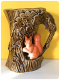VINTAGE 1960's SYLVAC SQUIRREL JUG VASE No. 4241