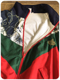 True Vintage Nautical Wavey Unisex Shell Suit/Track suit Top Jacket