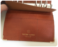VINTAGE 1970's DEEP TAN CALF LEATHER PMS CLASSIC KRAUSE FILOFAX PERSONAL ORGANISER
