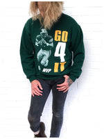 True Vintage 90s U.S Football Sweatshirt Sweat Jumper