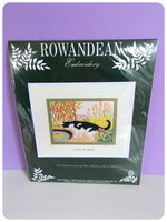 ROWANDEAN EMBROIDERY KIT BRAND NEW & SEALED CAT BY THE POND