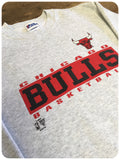 Vintage 1990s Original Chicago Bulls NBA US Basketball Sweatshirt Jumper size 6-8