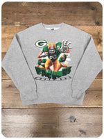 Vintage 1990s Original Green Bay Packers US Football Sweatshirt Jumper
