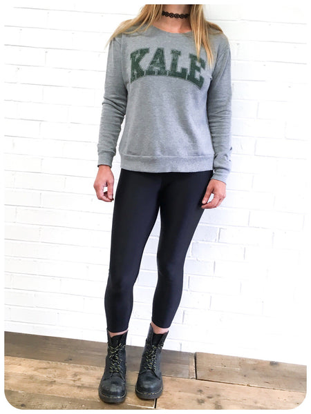 U.S KALE UNIVERSITY VEGAN VEGANISM SWEATSHIRT JUMPER