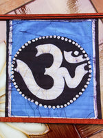 Hand Made Indian Elephant Om Batik Wall Hanging - Penny Bizarre - 16