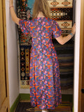 Vintage 1970s Dahlia Dreams Maxi Dress - Penny Bizarre - 4