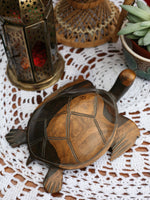 Vintage Wooden Indian Carved Turtle - Penny Bizarre - 4