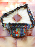 Multi Colour Nepalese Embroidered Bum Bag - Penny Bizarre - 3