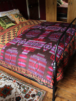 Nepalese Aztec Wool Throw Blanket Shawl - Penny Bizarre - 5