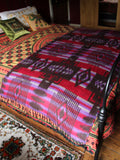 Nepalese Aztec Wool Throw Blanket Shawl - Penny Bizarre - 6