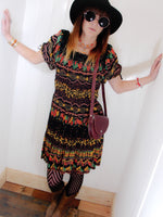 Free Spirit Bohemian Indian Cotton Dress - Penny Bizarre - 2