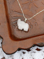 Hand Crafted Gemstone Elephant Necklace - Penny Bizarre - 5