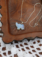Hand Crafted Gemstone Elephant Necklace - Penny Bizarre - 3