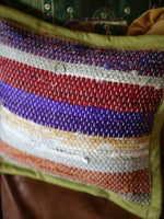 Hand Made Kilim Rag Rug Cushion Cover - Penny Bizarre - 2