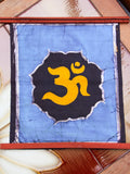 Hand Made Indian Elephant Om Batik Wall Hanging - Penny Bizarre - 14