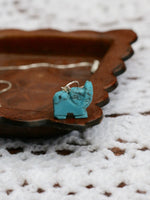 Hand Crafted Gemstone Elephant Necklace - Penny Bizarre - 12