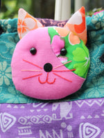 Hand Made Indian Patchwork Cat Bag - Penny Bizarre - 4