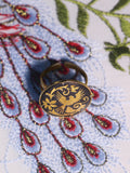 Bohemian Vintage Inlaid Phoenix Ring - Penny Bizarre - 4
