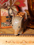 Wooden Indian Elephant Calendar - Penny Bizarre - 2