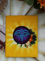 Hand Made Nepalese Embroidered Tie Dye Notebook - Penny Bizarre - 11