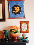 Hand Made Indian Elephant Om Batik Wall Hanging - Penny Bizarre - 6