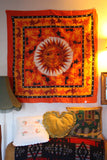 Indian Wall Hanging Sun & Stars Orange - Penny Bizarre - 1