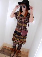 Free Spirit Bohemian Indian Cotton Dress - Penny Bizarre - 3