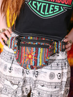Multi Colour Nepalese Embroidered Bum Bag - Penny Bizarre - 2