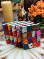 Hand Made Nepalese Patchwork Notebook - Penny Bizarre - 1