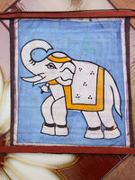 Hand Made Indian Elephant Om Batik Wall Hanging - Penny Bizarre - 11