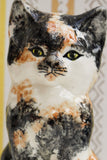 Vintage Calico Cat Ceramic Ornament - Penny Bizarre - 5