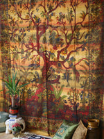 Indian Wall Hanging Double Throw Bedspread Tree of Life - Penny Bizarre - 1