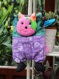 Hand Made Indian Patchwork Cat Bag - Penny Bizarre - 3