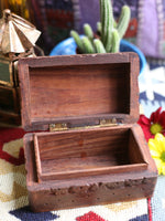Hand-made Indian Wooden Box Pentagram - Penny Bizarre - 3