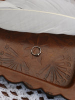 Hand Crafted 925 Sterling Silver Balinese Nose Ring 10mm - Penny Bizarre - 2