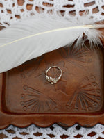 Sterling Silver Daisy Outline Ring - Penny Bizarre - 3