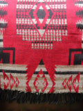 Nepalese Aztec Wool Throw Blanket Shawl - Penny Bizarre - 8