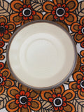 1970's Kiln Craft Brown Oatmeal Ironstone Breakfast Trio - Penny Bizarre - 3