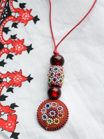 Flower Child Hand Crafted Indian Necklace - Penny Bizarre - 4