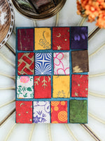 Hand Made Nepalese Patchwork Notebook - Penny Bizarre - 5