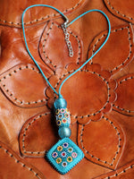 Flower Child Hand Crafted Indian Necklace - Penny Bizarre - 5