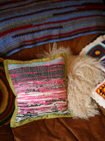 Hand Made Kilim Rag Rug Cushion Cover - Penny Bizarre - 3