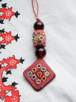 Flower Child Hand Crafted Indian Necklace - Penny Bizarre - 6