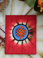 Hand Made Nepalese Embroidered Tie Dye Notebook - Penny Bizarre - 9