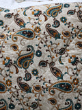 Indian Hand Made Paisley Cushion Cover - Penny Bizarre - 2