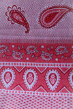 Vintage Paisley Hearts Tapestry Throw Blanket - Penny Bizarre - 2