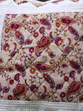 Indian Hand Made Paisley Cushion Cover - Penny Bizarre - 4