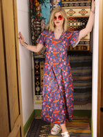 Vintage 1970s Dahlia Dreams Maxi Dress - Penny Bizarre - 2