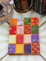 Hand Made Nepalese Patchwork Notebook - Penny Bizarre - 6